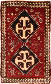 Ghashghai Matto 100X163 Itämainen Käsinsolmittu Tummanpunainen/Ruoste (Villa, Persia/Iran)