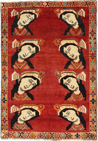 Gashgai Alfombra 121X176 Oriental Hecha A Mano Óxido/Roja/Marrón Oscuro (Lana, Persia/Irán)