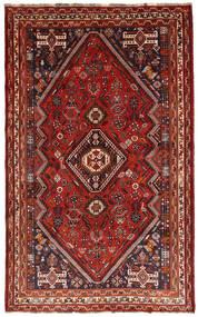 Ghashghai Tæppe 180X292 Ægte Orientalsk Håndknyttet Mørkerød/Mørkebrun (Uld, Persien/Iran)