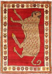 Ghashghai Teppe 140X195 Ekte Orientalsk Håndknyttet Rust/Brun (Ull, Persia/Iran)