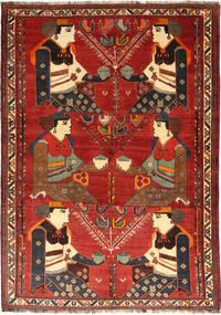 Ghashghai Matto 174X245 Itämainen Käsinsolmittu Tummanpunainen/Tummanruskea (Villa, Persia/Iran)