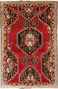 Ghashghai Matto 165X250 Itämainen Käsinsolmittu Tummanruskea/Ruoste (Villa, Persia/Iran)