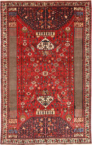 Qashqai Rug 185X300 Authentic  Oriental Handknotted Rust Red/Dark Brown/Brown (Wool, Persia/Iran)