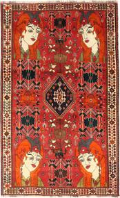 Ghashghai Matto 143X232 Itämainen Käsinsolmittu Ruoste/Tummanpunainen (Villa, Persia/Iran)