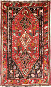 Qashqai Rug 156X262 Authentic  Oriental Handknotted Dark Brown/Dark Red (Wool, Persia/Iran)