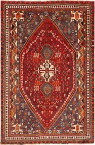 Ghashghai Matto 164X250 Itämainen Käsinsolmittu Tummanpunainen (Villa, Persia/Iran)