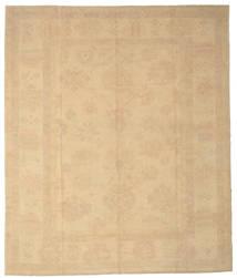 Oushak Rug 273X323 Authentic  Oriental Handknotted Dark Beige/Light Brown Large (Wool, Turkey)