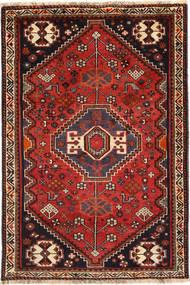 Kaszkaj Dywan 110X164 Orientalny Tkany Ręcznie Ciemnoczerwony/Czarny (Wełna, Persja/Iran)