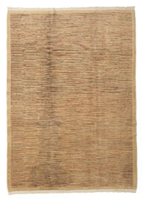 Oushak Rug 175X245 Authentic  Oriental Handknotted Light Brown/Brown (Wool, Turkey)