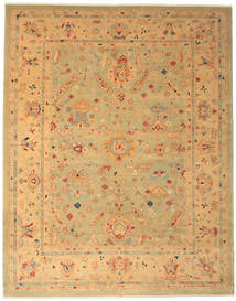Oushak Rug 317X400 Authentic  Oriental Handknotted Light Brown Large (Wool, Turkey)