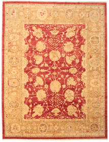 Oushak Rug 307X400 Authentic Oriental Handknotted Light Brown/Orange Large (Wool, Turkey)