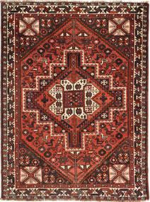 Ghashghai Matto 115X156 Itämainen Käsinsolmittu Tummanpunainen/Ruoste (Villa, Persia/Iran)