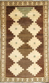 Kaszkaj Dywan 116X200 Orientalny Tkany Ręcznie Beżowy/Brązowy/Jasnobrązowy (Wełna, Persja/Iran)