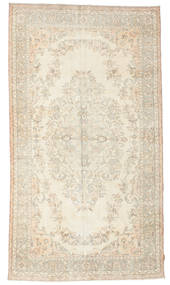 Colored Vintage Rug 178X320 Authentic  Modern Handknotted Beige/Dark Beige (Wool, Turkey)