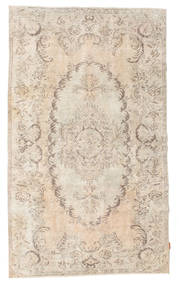 Colored Vintage Rug 150X258 Authentic  Modern Handknotted Light Brown/Beige (Wool, Turkey)
