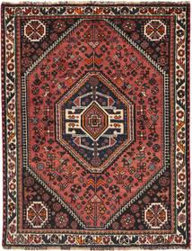 Qashqai Rug 118X156 Authentic  Oriental Handknotted Black/Brown (Wool, Persia/Iran)