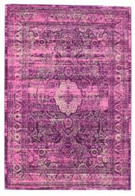 Jacinda - Roosa Matto 140X200 Moderni Pinkki/Tummanvioletti/Vaaleanpunainen ( Turkki)