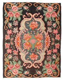 Rose Kelim Moldavia Rug 195X250 Authentic  Oriental Handwoven Dark Grey/Light Pink (Wool, Moldova)