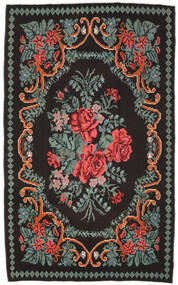 Rose Kelim Moldavia Rug 171X278 Authentic  Oriental Handwoven Dark Brown/Dark Grey (Wool, Moldova)