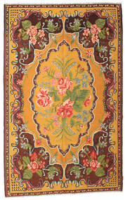 Rose Kelim Moldavia Rug 187X298 Authentic Oriental Handwoven Orange/Dark Red (Wool, Moldova)