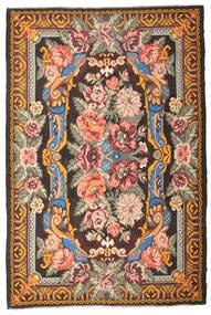 Rose Kelim Moldavia Rug 210X325 Authentic  Oriental Handwoven Dark Brown/Light Brown (Wool, Moldova)