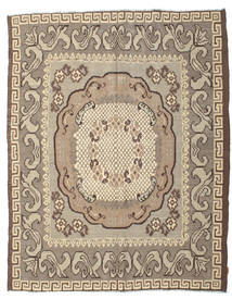 Rose Kelim Moldavia Rug 217X282 Authentic  Oriental Handwoven Light Brown/Dark Brown (Wool, Moldova)