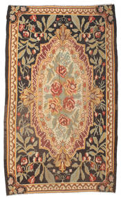 Rose Kelim Moldavia Rug 178X295 Authentic  Oriental Handwoven Brown/Dark Beige/Light Brown (Wool, Moldova)