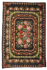 Rose Kelim Moldavia Rug 233X365 Authentic  Oriental Handwoven Dark Brown (Wool, Moldova)
