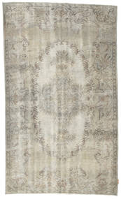 Colored Vintage Rug 153X260 Authentic  Modern Handknotted Light Grey/Light Brown (Wool, Turkey)