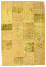 Patchwork Rug 158X232 Authentic  Modern Handknotted Yellow (Wool, Turkey)