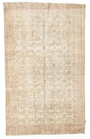 Colored Vintage Rug 156X262 Authentic  Modern Handknotted Beige (Wool, Turkey)