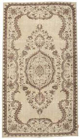 Colored Vintage Rug 155X284 Authentic  Modern Handknotted Light Brown/Brown (Wool, Turkey)