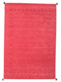 Loribaf Loom Tæppe 200X292 Ægte Moderne Håndknyttet Rosa/Rød (Uld, Indien)