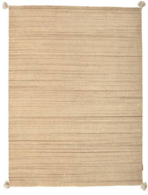 Loribaf Loom Rug 144X194 Authentic  Modern Handknotted Dark Beige/Light Brown (Wool, India)
