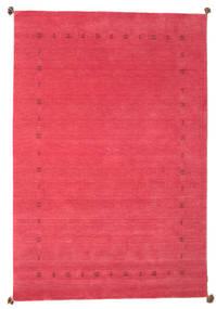 Loribaf Loom Alfombra 198X293 Moderna Hecha A Mano Roja/Rosa (Lana, India)