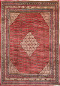 Sarouk Mir Rug 285X400 Authentic  Oriental Handknotted Dark Red/Brown Large (Wool, Persia/Iran)