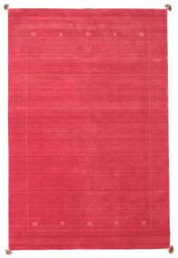 Loribaf Loom Tæppe 198X298 Ægte Moderne Håndknyttet Rød/Rosa (Uld, Indien)