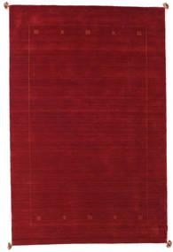 Loribaf Loom Rug 188X287 Authentic  Modern Handknotted Dark Red/Crimson Red (Wool, India)