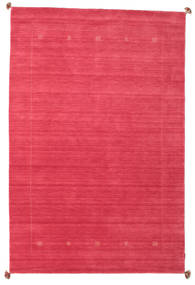 Loribaf Loom Rug 189X288 Authentic  Modern Handknotted Crimson Red/Pink (Wool, India)