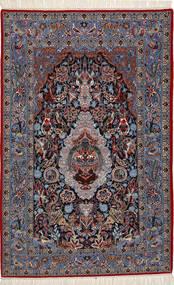 イスファハン 絹の縦糸 絨毯 TTF18