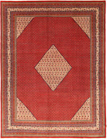 Sarouk Mir Rug 295X391 Authentic  Oriental Handknotted Rust Red/Brown Large (Wool, Persia/Iran)