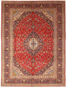 Keshan Matto 296X392 Itämainen Käsinsolmittu Ruoste/Tummanpunainen Isot (Villa, Persia/Iran)
