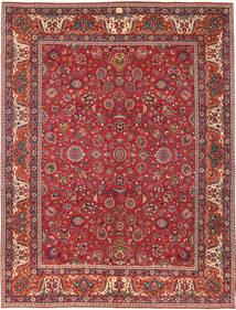 Mashad Patina Matto 300X393 Itämainen Käsinsolmittu Ruskea/Tummanpunainen Isot (Villa, Persia/Iran)