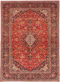 カシャン パティナ 絨毯 238X334 オリエンタル 手織り 深紅色の/錆色 (ウール, ペルシャ/イラン)