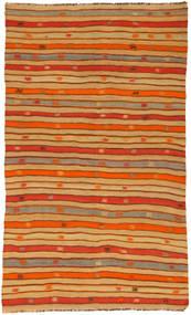 Kilim semi antique Turkish carpet NAZA475