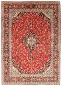 Keshan Koberec 287X414 Orientální Ručně Tkaný Hnědá/Světle Hnědá Velký (Vlna, Persie/Írán)