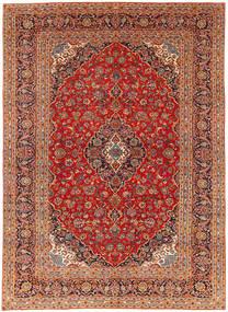 Keshan Patina Rug 235X334 Authentic  Oriental Handknotted Dark Red/Light Brown (Wool, Persia/Iran)