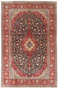 Keshan Patina Matta 244X373 Äkta Orientalisk Handknuten Brun/Ljusbrun (Ull, Persien/Iran)