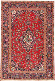 Keshan Patina Rug 233X342 Authentic  Oriental Handknotted Rust Red/Brown (Wool, Persia/Iran)