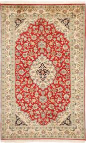 Kashmir pure silk carpet MSA370